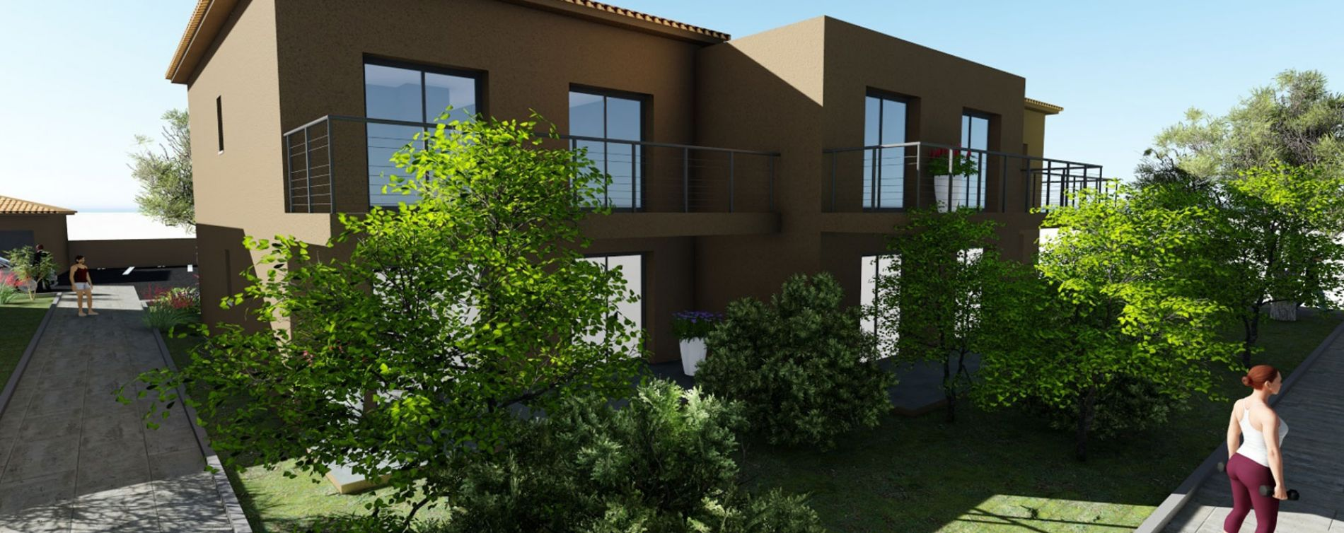 Cervione : programme immobilier neuve « Montecristo » (2)