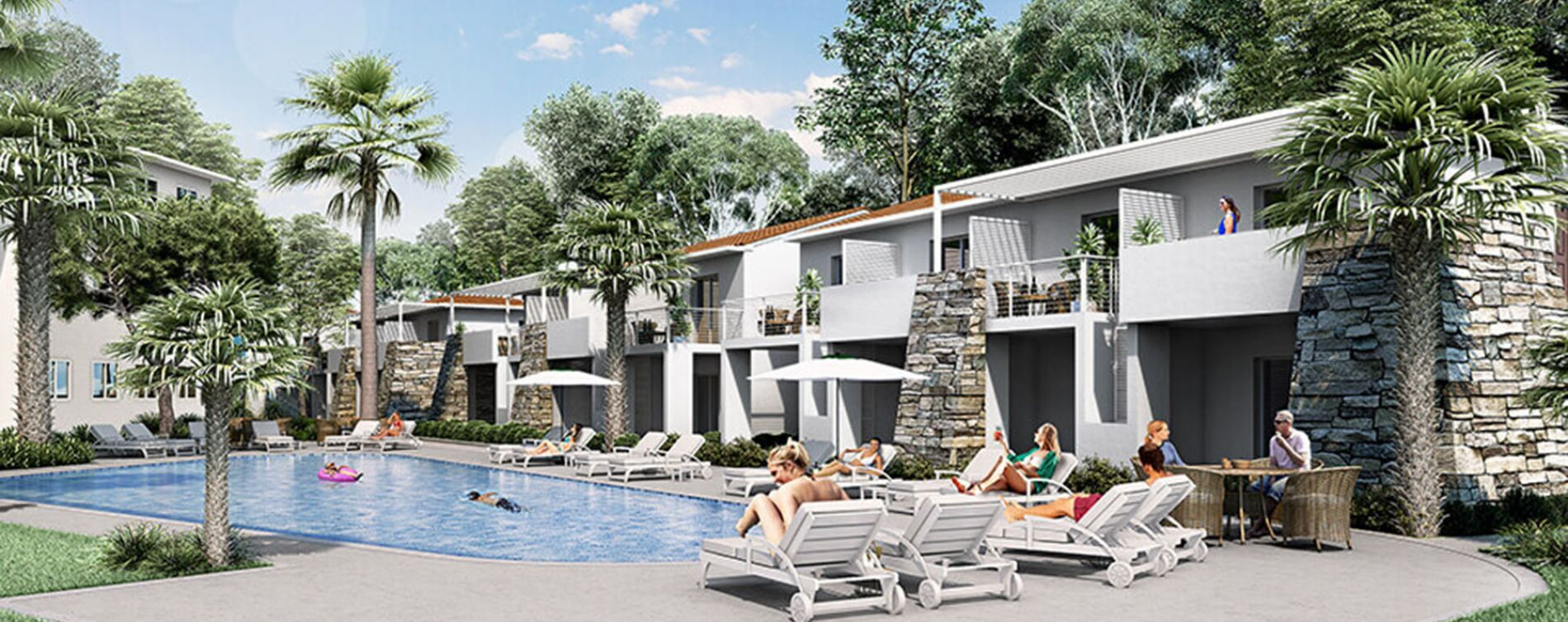 Linguizzetta : programme immobilier neuve « Marina Di Bravone »