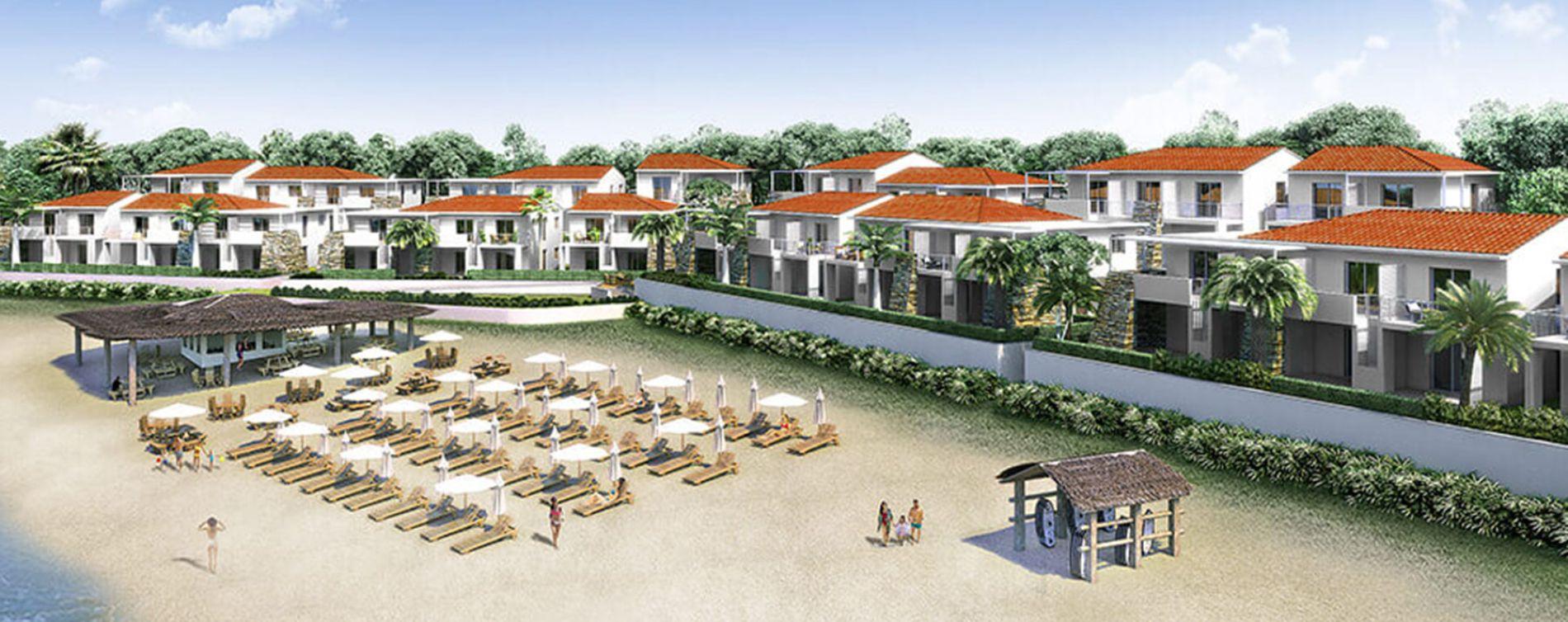 Linguizzetta : programme immobilier neuve « Marina Di Bravone » (3)