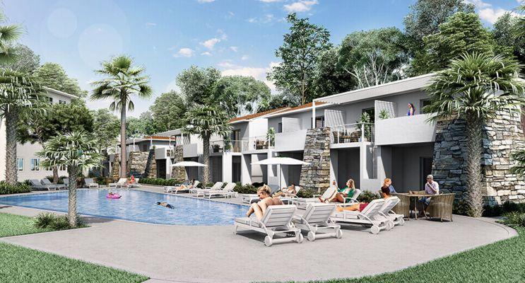 Photo du Résidence « Marina Di Bravone » programme immobilier neuf à Linguizzetta