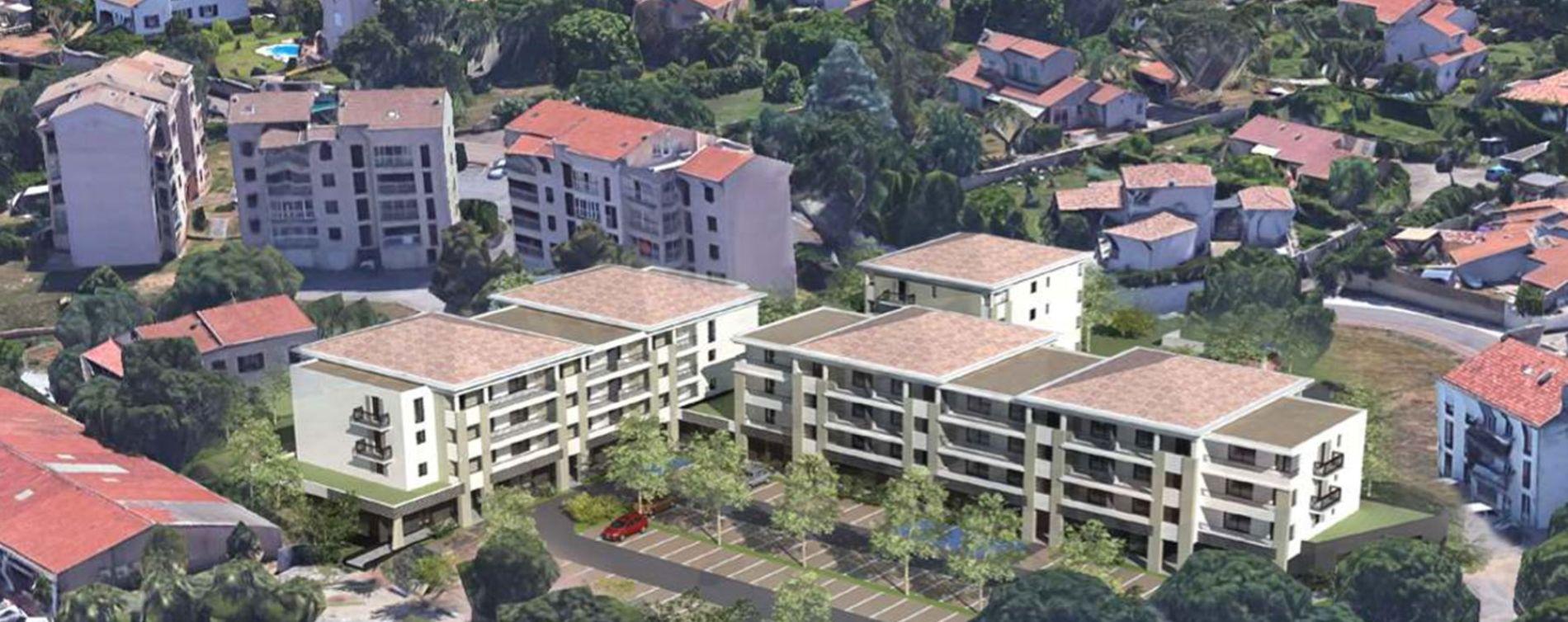 Penta-di-Casinca : programme immobilier neuve « Le Forum » en Loi Pinel (2)