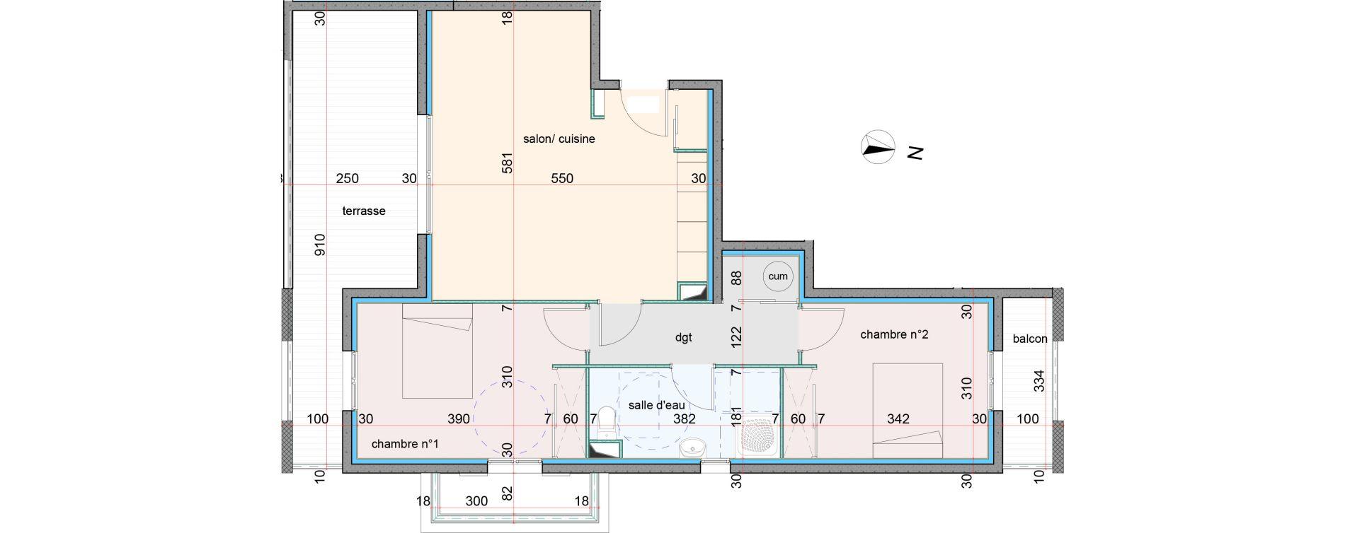 Appartement T3 de 67,85 m2 à Penta-Di-Casinca Centre