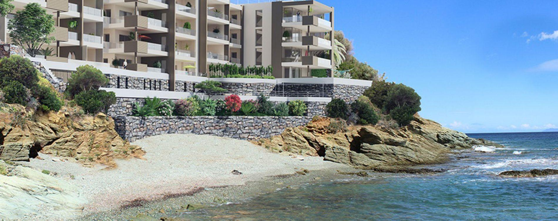 San-Martino-di-Lota : programme immobilier neuve « PietraMare » en Loi Pinel