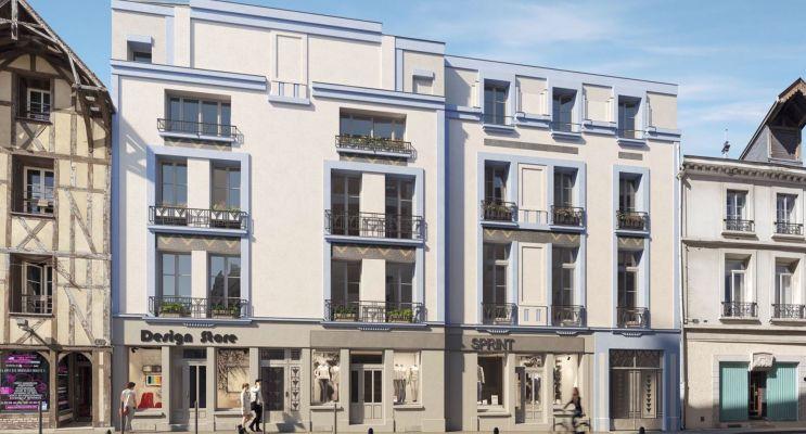 Photo du Résidence « 64 Monnaie » programme immobilier à rénover en Loi Malraux à Troyes