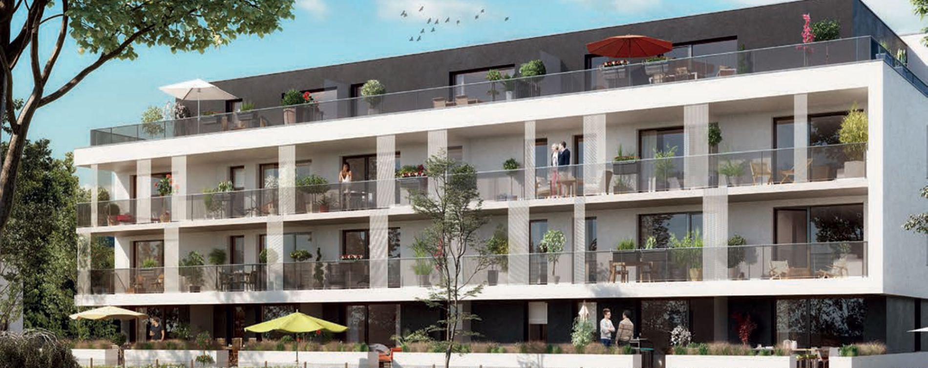 Brumath : programme immobilier neuve « Arbor & Sens » en Loi Pinel
