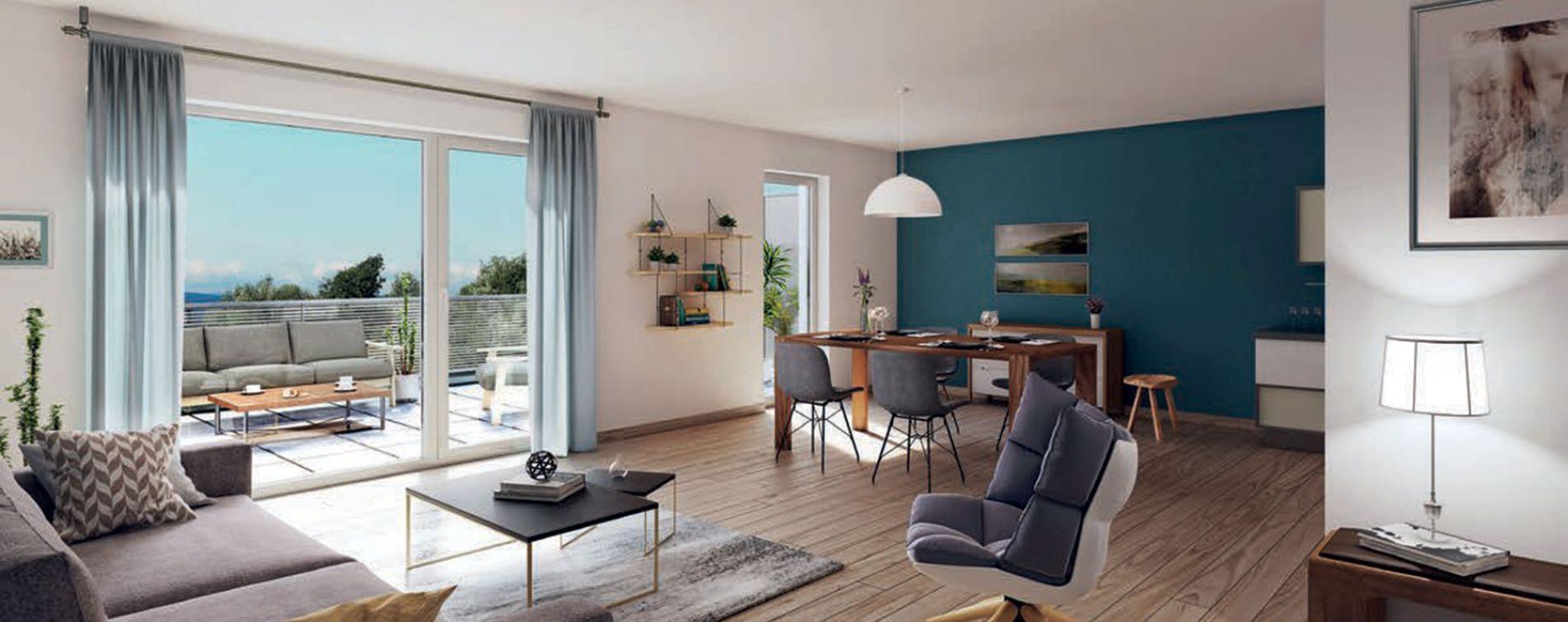 Brumath : programme immobilier neuve « Arbor & Sens » en Loi Pinel (2)