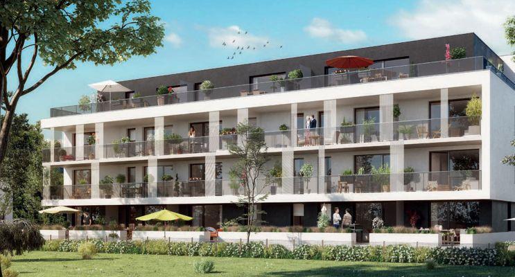 Photo du Résidence « Arbor & Sens » programme immobilier neuf en Loi Pinel à Brumath