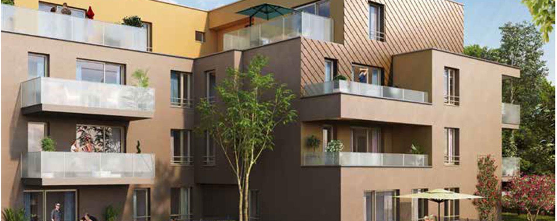 Brumath : programme immobilier neuve « Carré Or 2 » en Loi Pinel