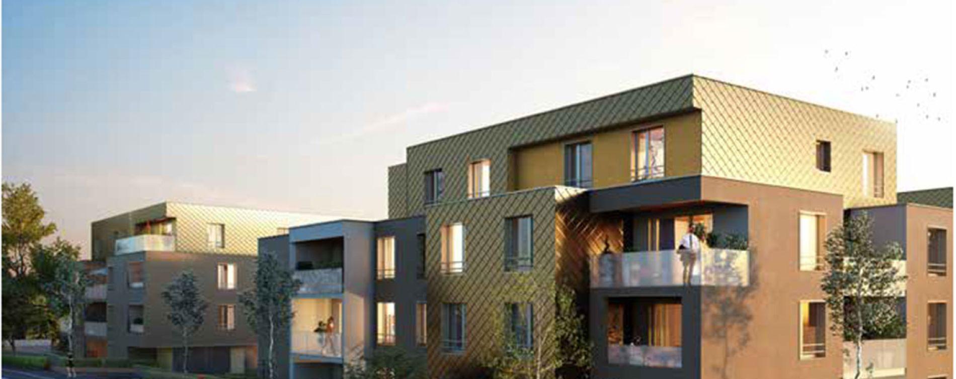 Brumath : programme immobilier neuve « Carré Or 2 » en Loi Pinel (2)