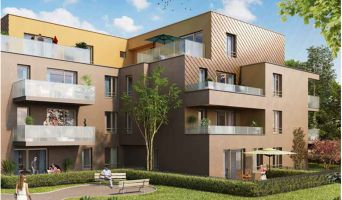 Brumath : programme immobilier neuf « Carré Or 2 » en Loi Pinel