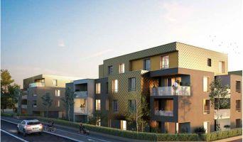 Brumath : programme immobilier neuf « Carré Or » en Loi Pinel
