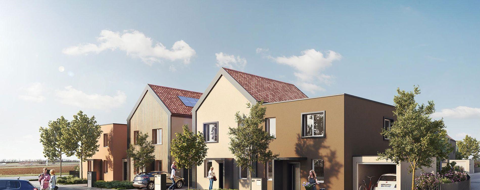 Geispolsheim : programme immobilier neuve « L'Empreinte » en Loi Pinel