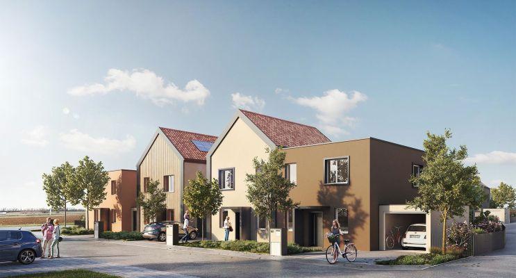 Geispolsheim : programme immobilier neuf « L'Empreinte » en Loi Pinel