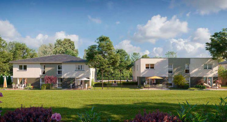 Photo du Résidence « Les Carrés des Cinq Tertres » programme immobilier neuf à Gries
