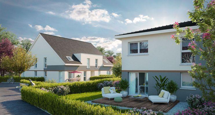 Photo du Résidence « Les Carrés de l'Albatros » programme immobilier neuf à Herrlisheim