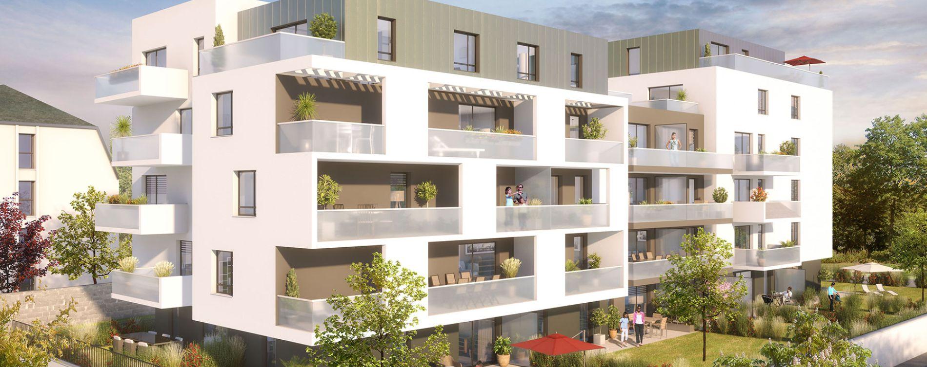 Illkirch-Graffenstaden : programme immobilier neuve « Azur & O »