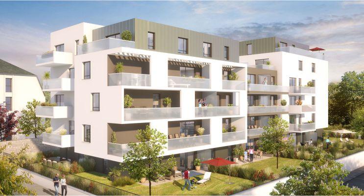 Photo du Résidence « Azur & O » programme immobilier neuf en Loi Pinel à Illkirch-Graffenstaden