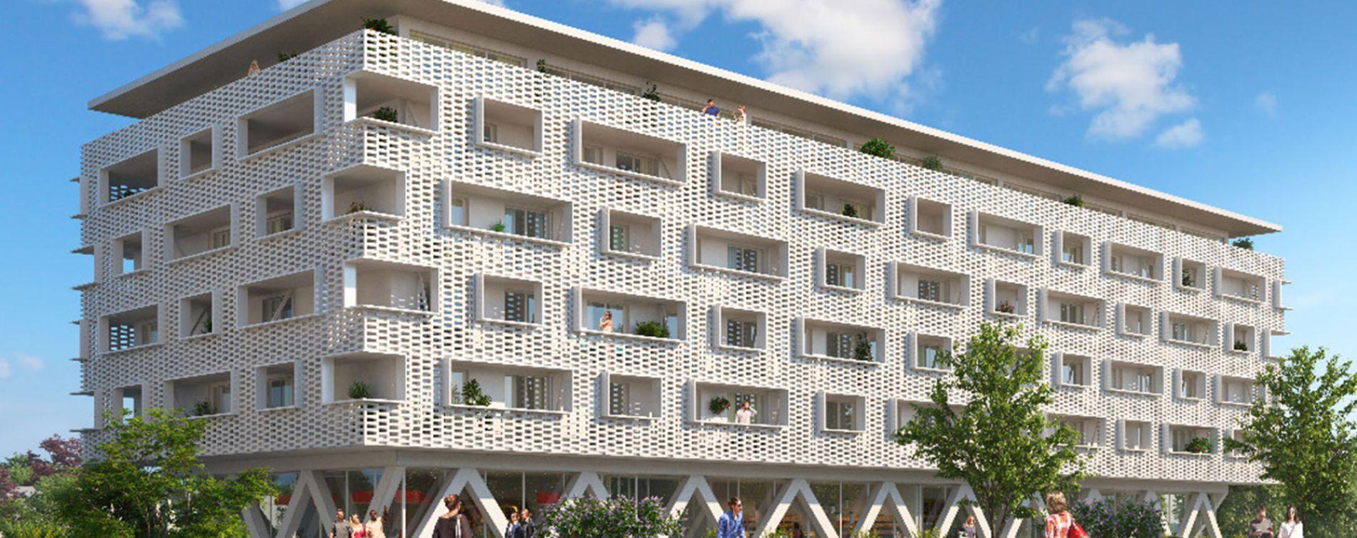 Illkirch-Graffenstaden : programme immobilier neuve « Unitha » en Loi Pinel