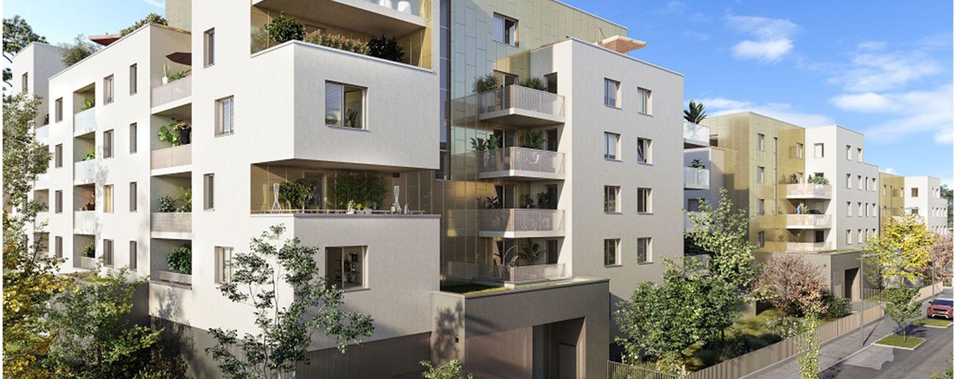 Lingolsheim : programme immobilier neuve « Green Square - Tranche 2 »