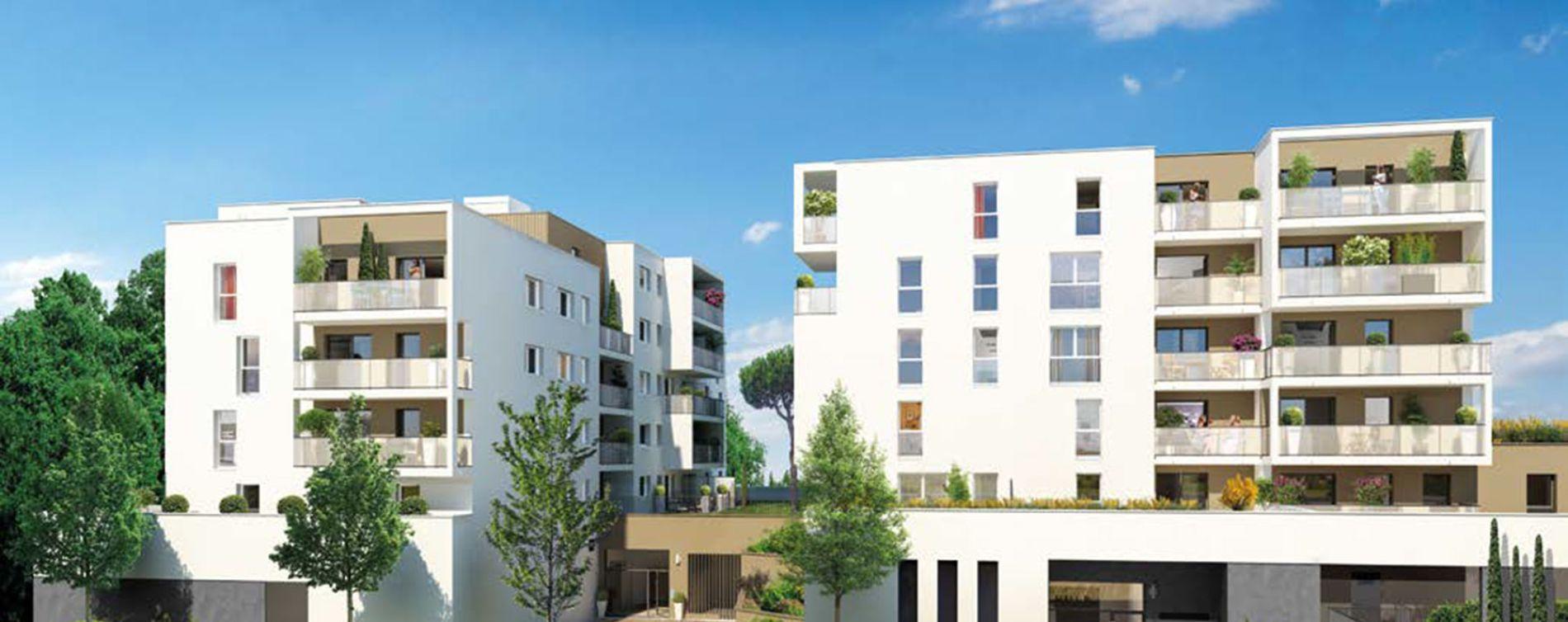 Lingolsheim : programme immobilier neuve « Signature Bât. B » en Loi Pinel