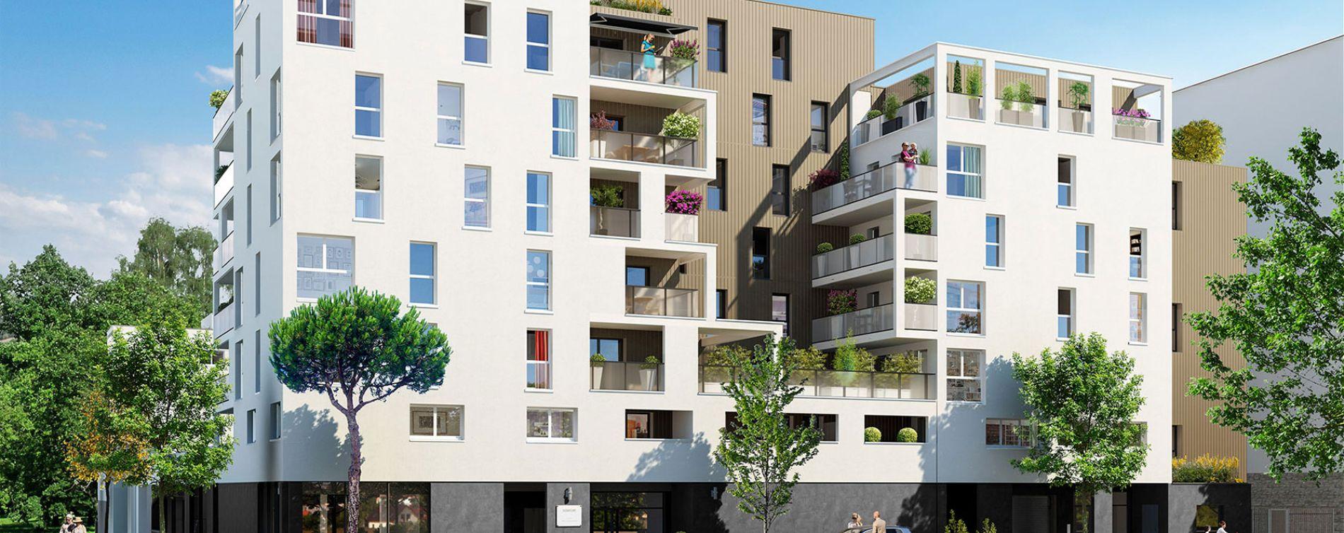 Lingolsheim : programme immobilier neuve « Signature » en Loi Pinel