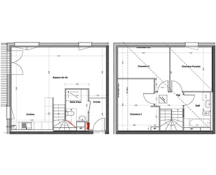 Plan T5 neuf à Minversheim de