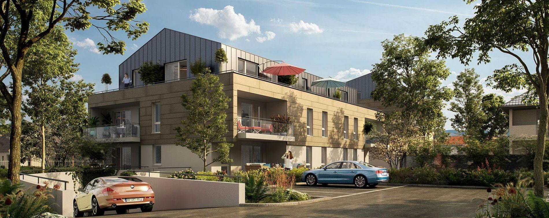 Oberhausbergen : programme immobilier neuve « Ovatio »