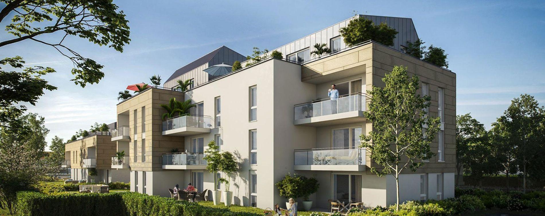 Oberhausbergen : programme immobilier neuve « Ovatio » (2)