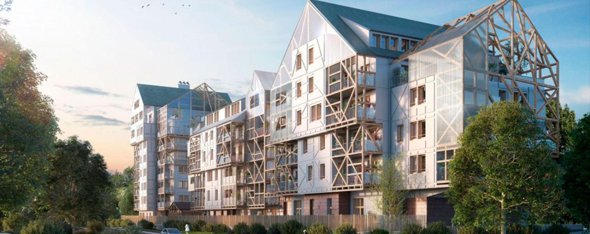 Ostwald : programme immobilier neuve « Polaris 2 » en Loi Pinel (2)