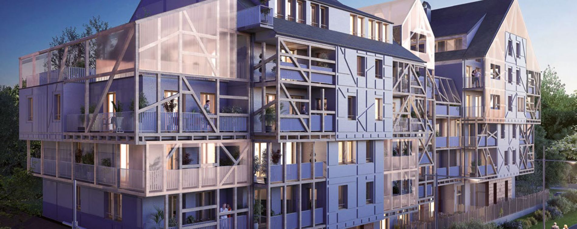Ostwald : programme immobilier neuve « Polaris 2 » en Loi Pinel (3)