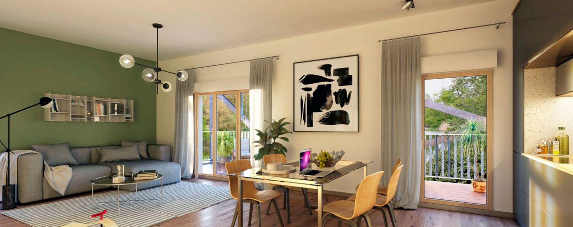 Ostwald : programme immobilier neuve « Polaris 2 » en Loi Pinel (5)