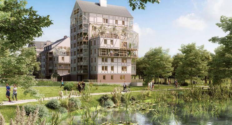 Ostwald programme immobilier neuf « Polaris 2 » en Loi Pinel