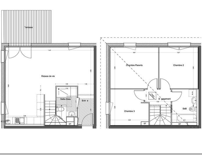 Plan T5 neuf à Ringendorf de
