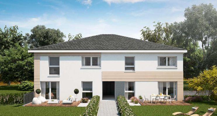 Photo du Résidence « Les Carrés Bellevue » programme immobilier neuf à Ringendorf