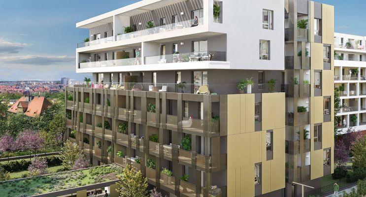 Photo du Résidence « Eloquence & Prestance » programme immobilier neuf en Loi Pinel à Schiltigheim