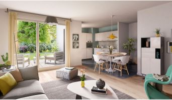 Photo n°4 du Résidence « Follement Schilick 2 » programme immobilier neuf en Loi Pinel à Schiltigheim