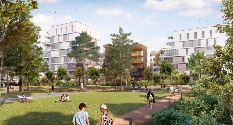 Schiltigheim : programme immobilier neuf « Follement Schilick 2 » en Loi Pinel