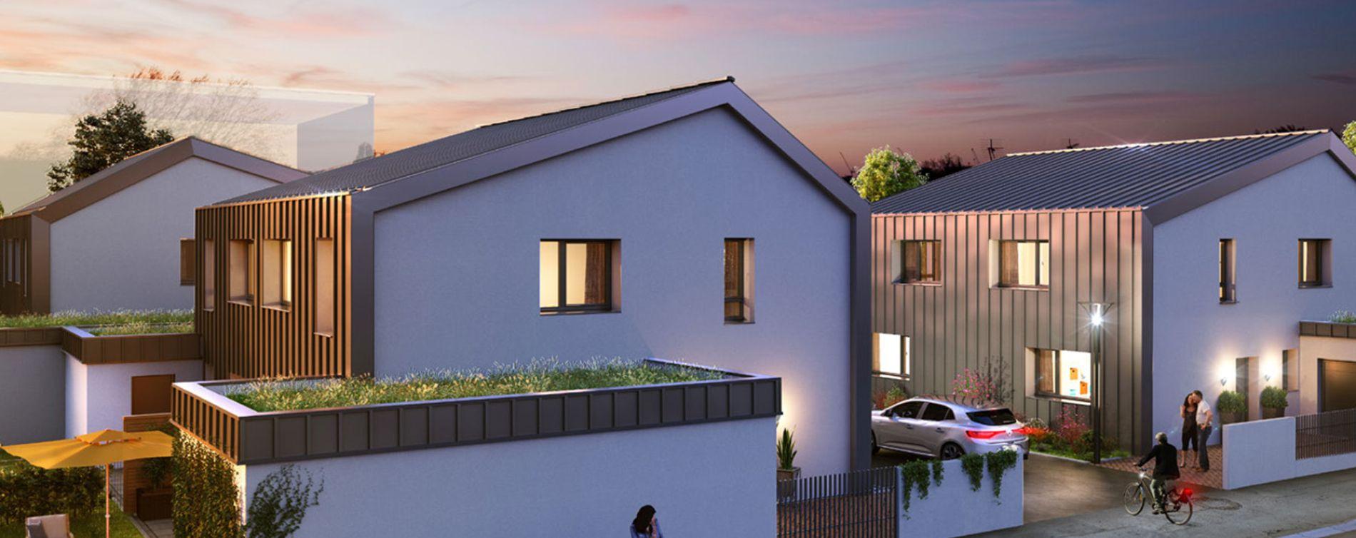 Schiltigheim : programme immobilier neuve « Follement Schilick Bât. H » en Loi Pinel