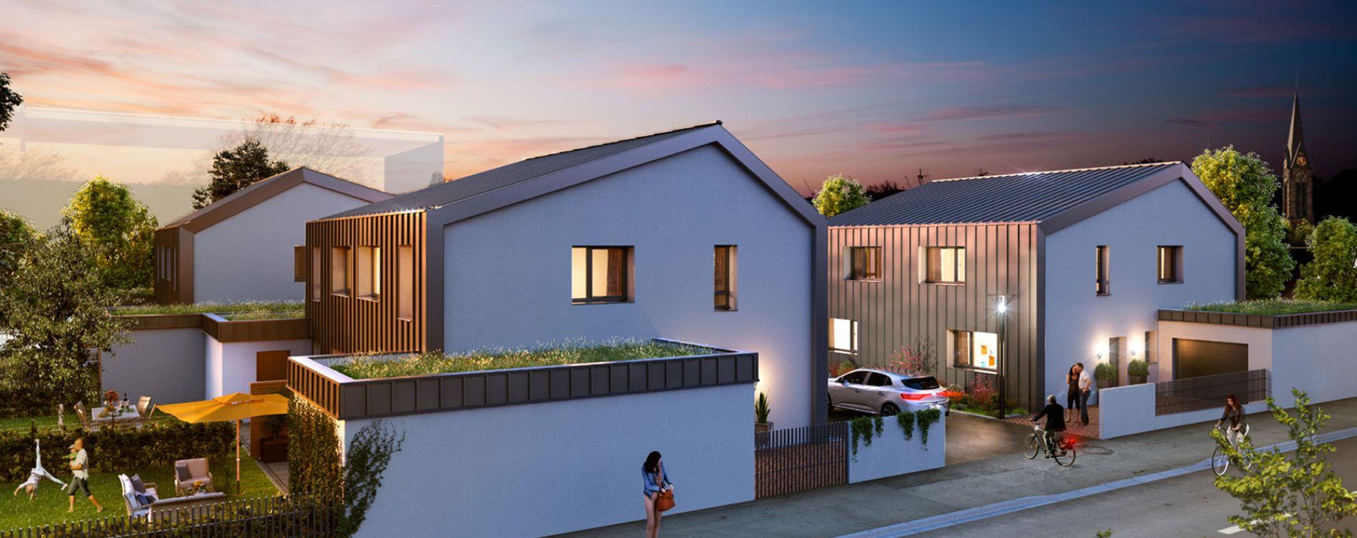 Schiltigheim : programme immobilier neuve « Follement Schilick » en Loi Pinel (3)