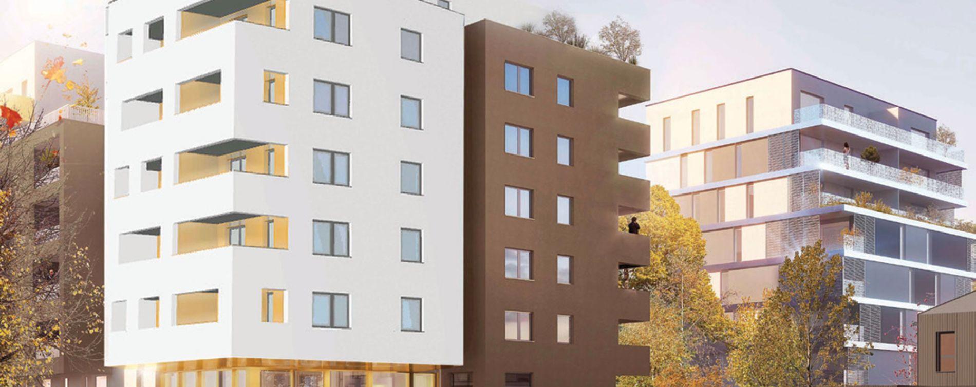Schiltigheim : programme immobilier neuve « Sénioriales de Schiltigheim »