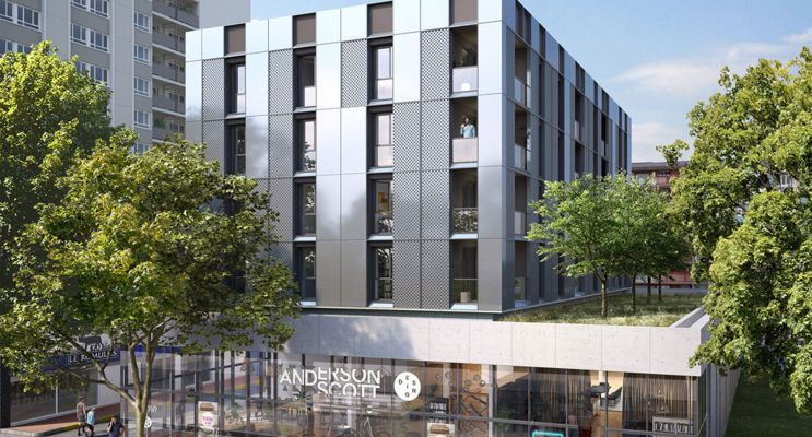Strasbourg : programme immobilier neuf « Epsilon » en Loi Pinel