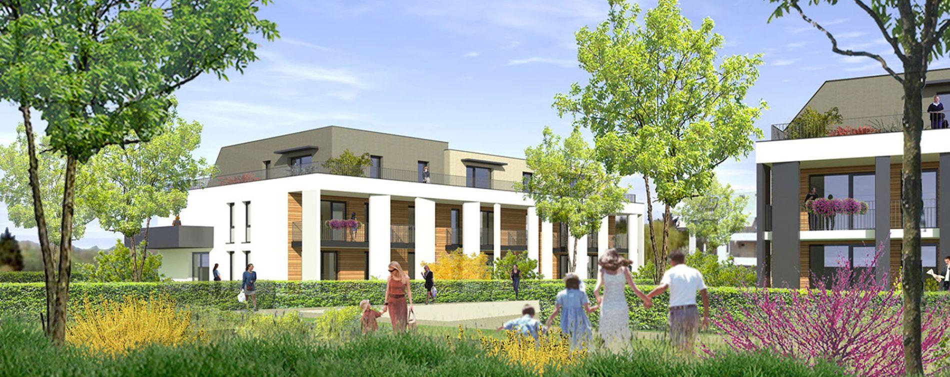 Strasbourg : programme immobilier neuve « Id'ill » en Loi Pinel