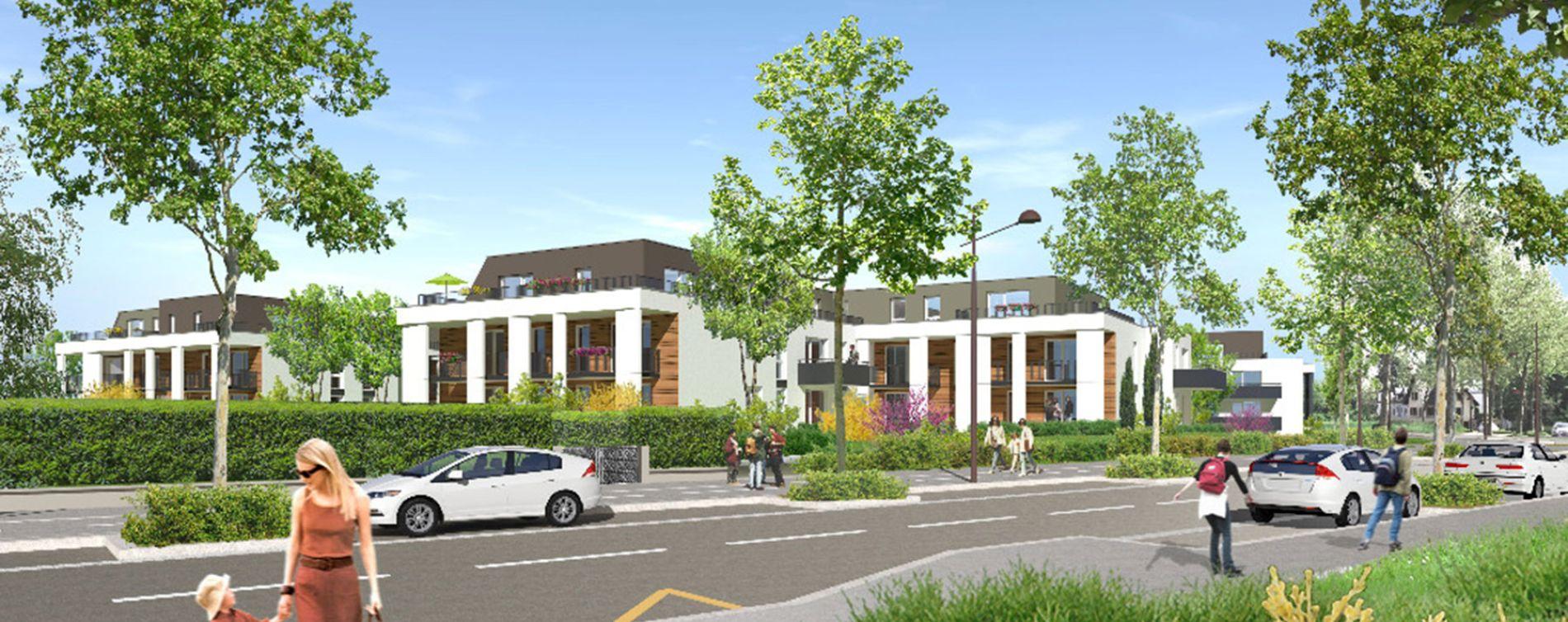 Strasbourg : programme immobilier neuve « Id'ill » en Loi Pinel (2)