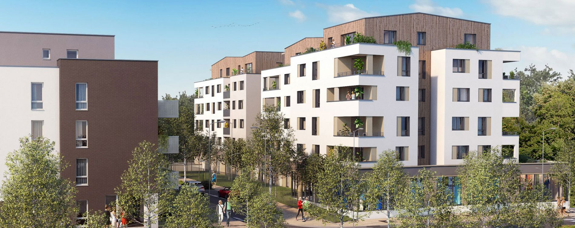Strasbourg : programme immobilier neuve « Impulsion »