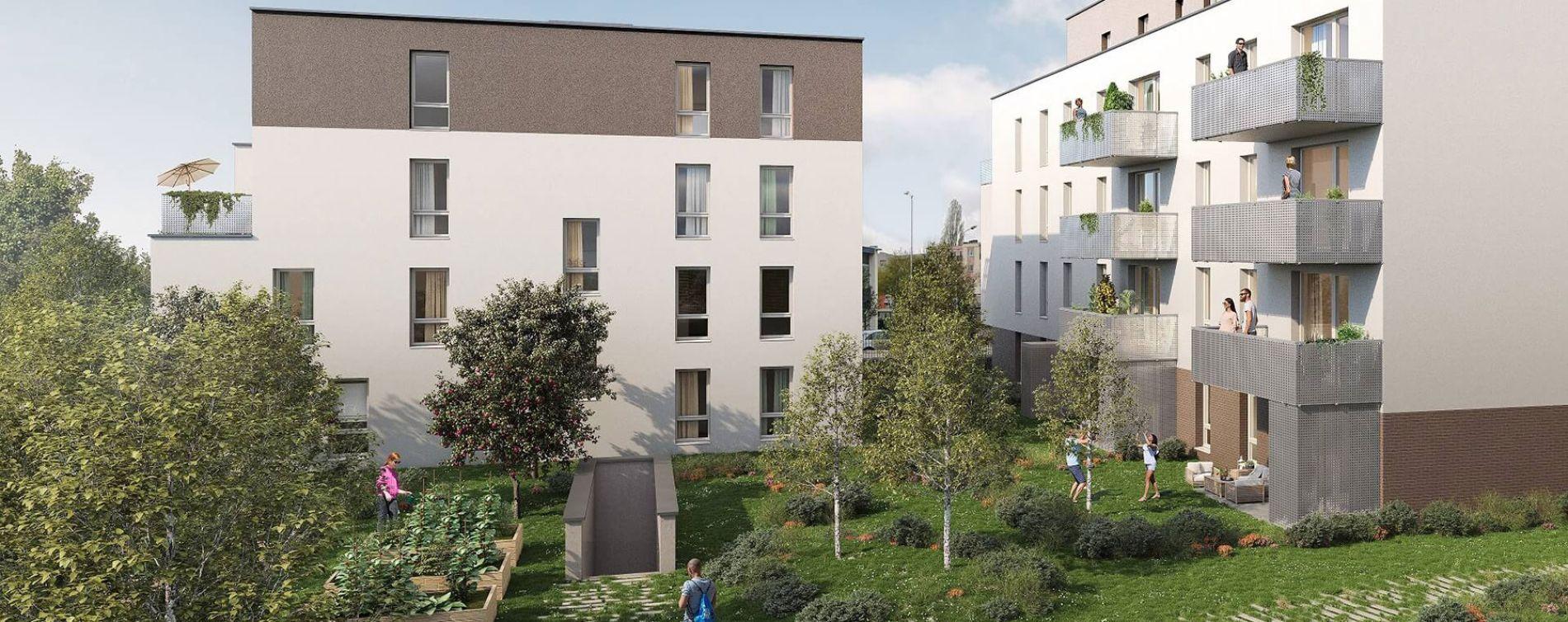 Strasbourg : programme immobilier neuve « Impulsion » (2)