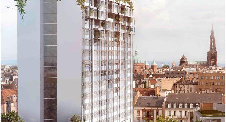 Résidence « La Canopée » programme immobilier neuf en Loi Pinel à Strasbourg n°2