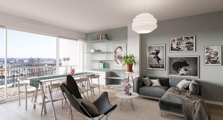 Résidence « Latitude 44 » programme immobilier à rénover en Loi Pinel ancien à Strasbourg n°4