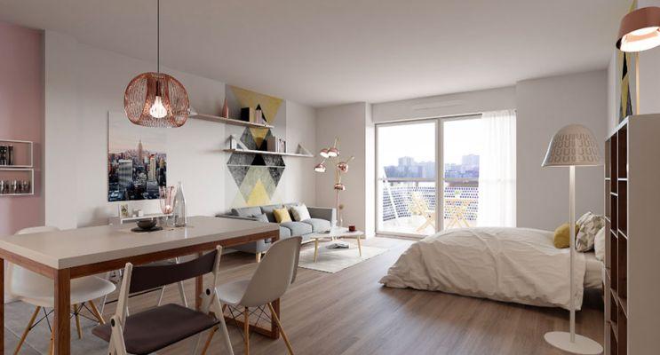 Résidence « Latitude 44 » programme immobilier à rénover en Loi Pinel ancien à Strasbourg n°5