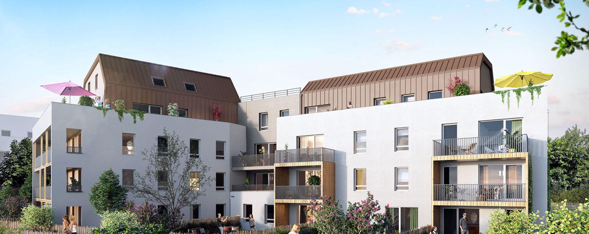 Strasbourg : programme immobilier neuve « Le Carré des Muses »