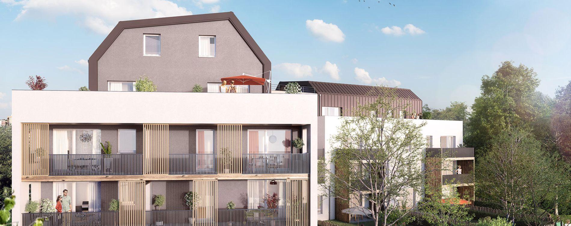 Strasbourg : programme immobilier neuve « Le Carré des Muses » (2)